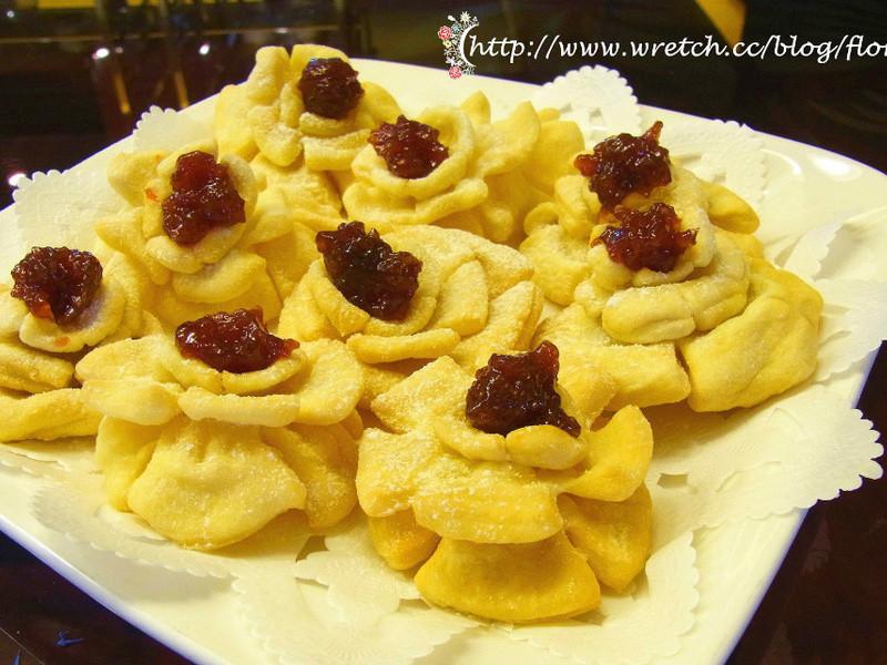 情人節甜點〈玫瑰花餅〉