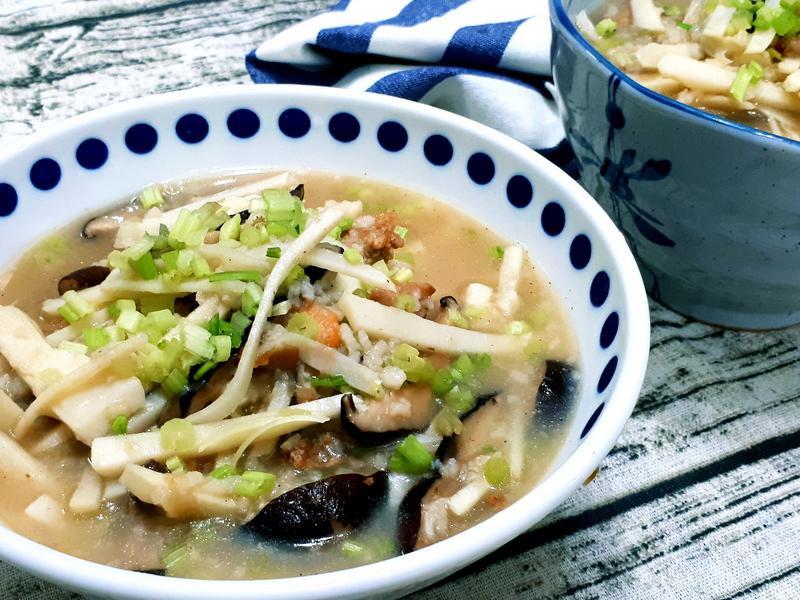 竹筍香菇粥