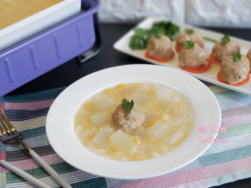 粟米冬瓜湯飯