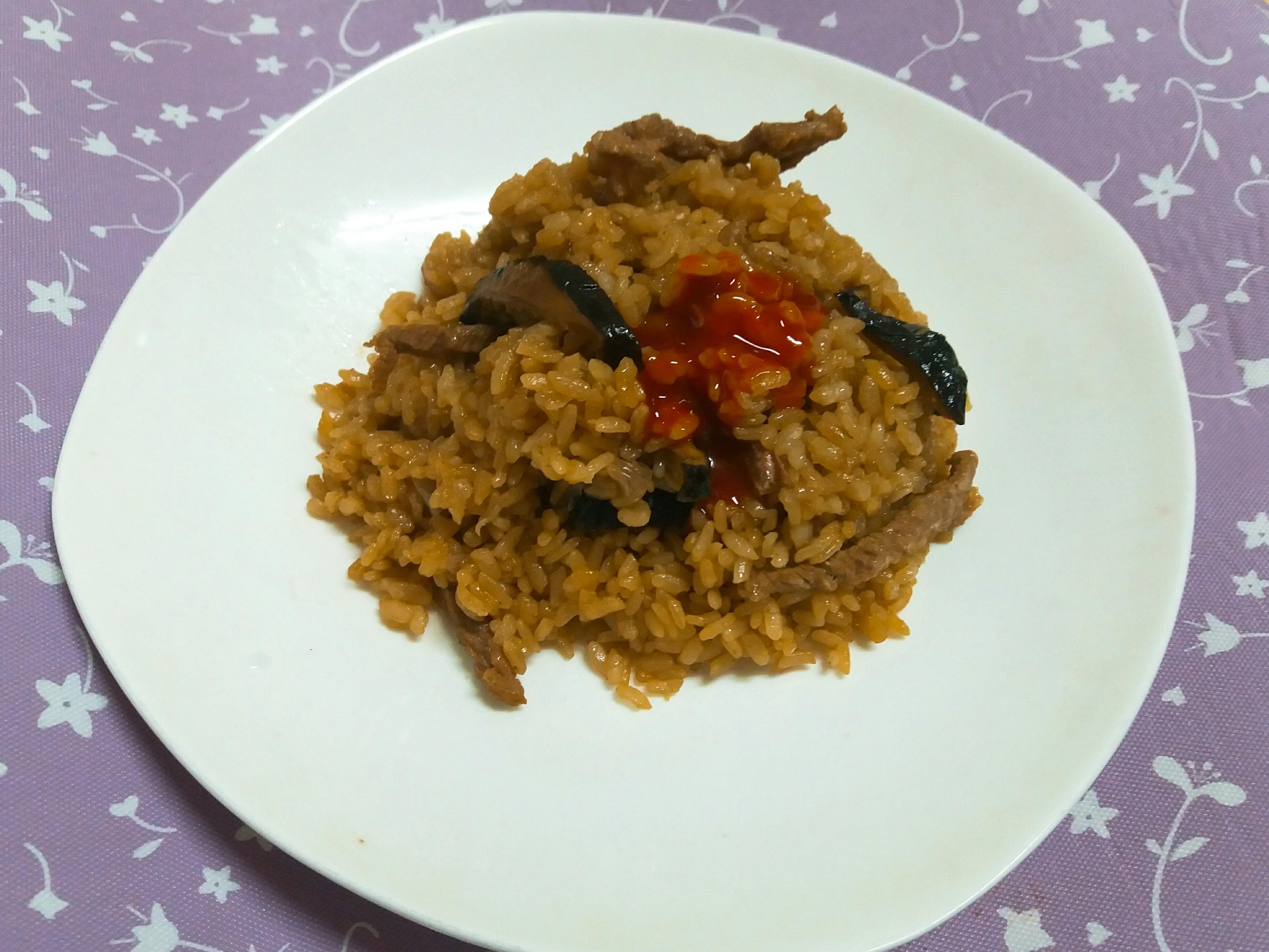 零廚藝~電鍋白米油飯