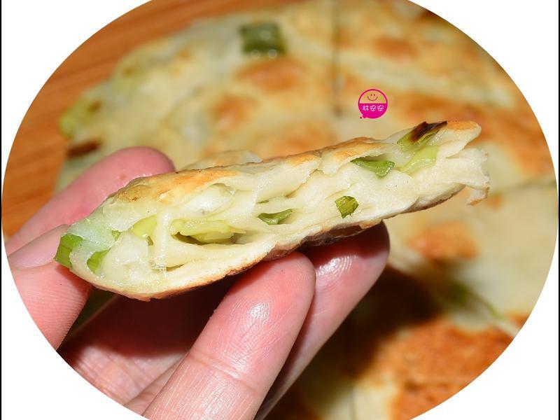 蝸牛狀厚片版蔥油餅
