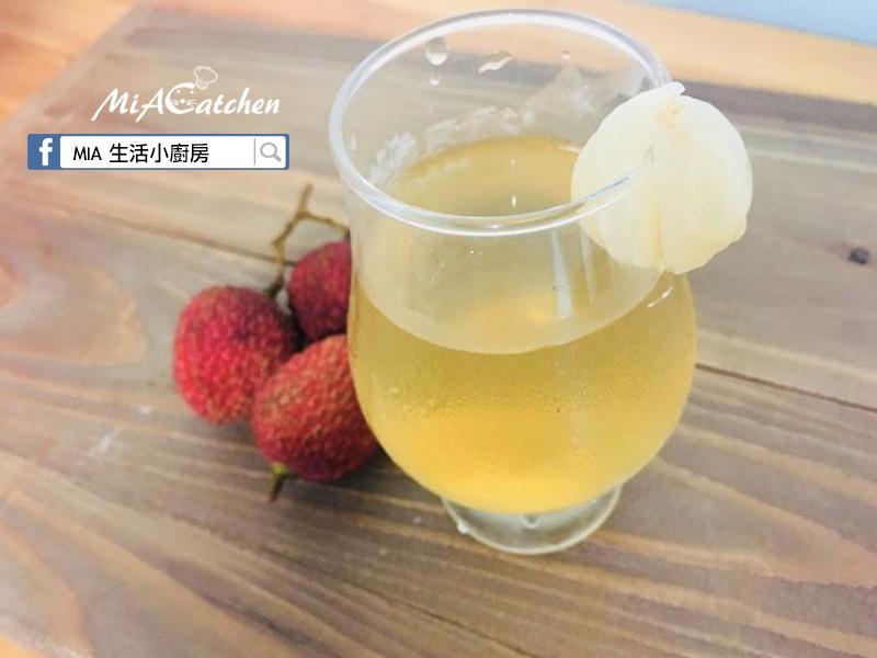 香甜手作荔枝冰茶