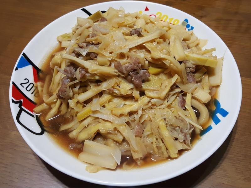 竹筍炒肉絲~夏季美味時蔬