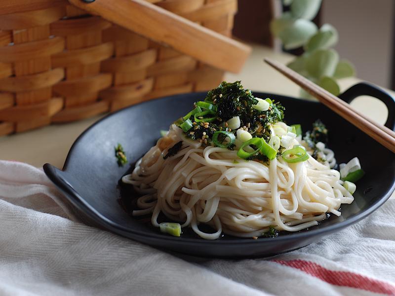 日式蕎麥涼麵(無油煙、簡易)