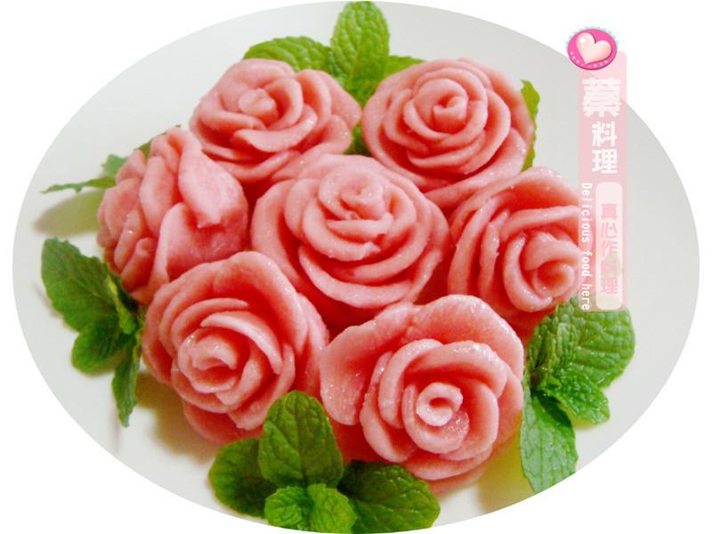 巧克力玫瑰花