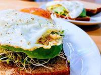 減肥早餐  全麥雞蛋酪梨吐司
