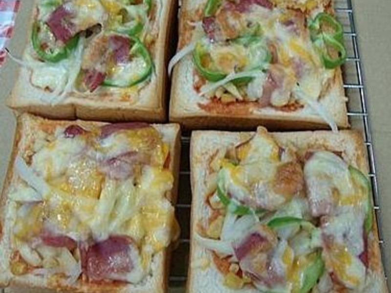 ღ小吟愛做菜ღ水果土司披薩