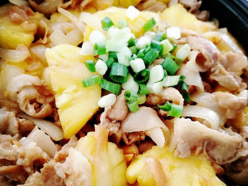 鳳梨洋蔥燒肉
