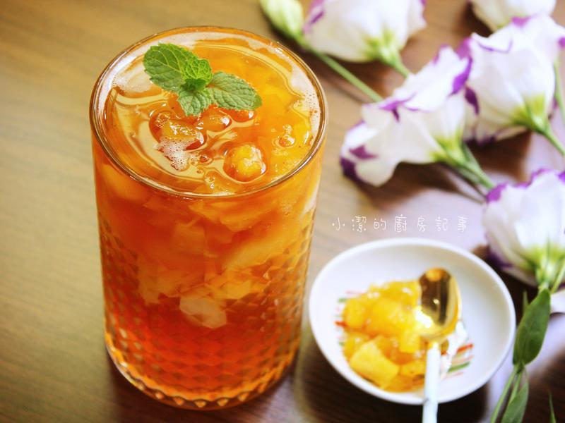 鳳梨冰茶 (鳳梨果醬)