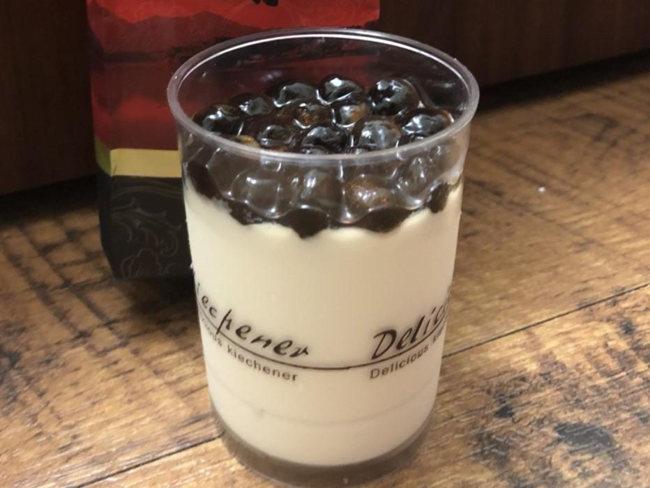 珍珠鮮奶茶酪 鮮奶茶酪