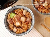 芋香松阪油飯_糯米免浸泡 電子鍋料理