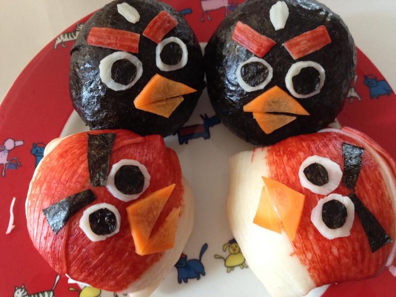 Angry Birds 肉鬆飯團