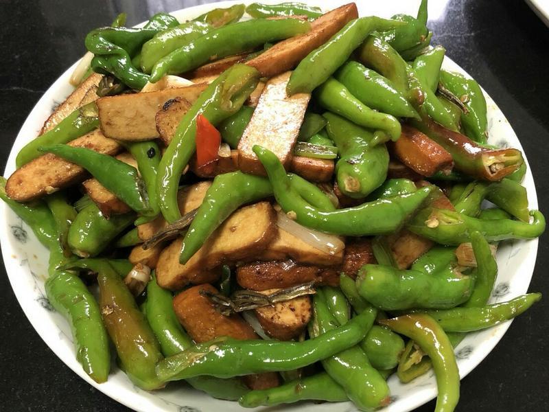 豆干糯米椒