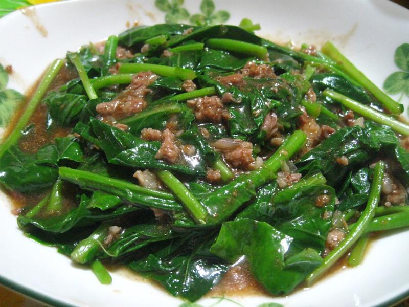 沙茶芥蘭菜