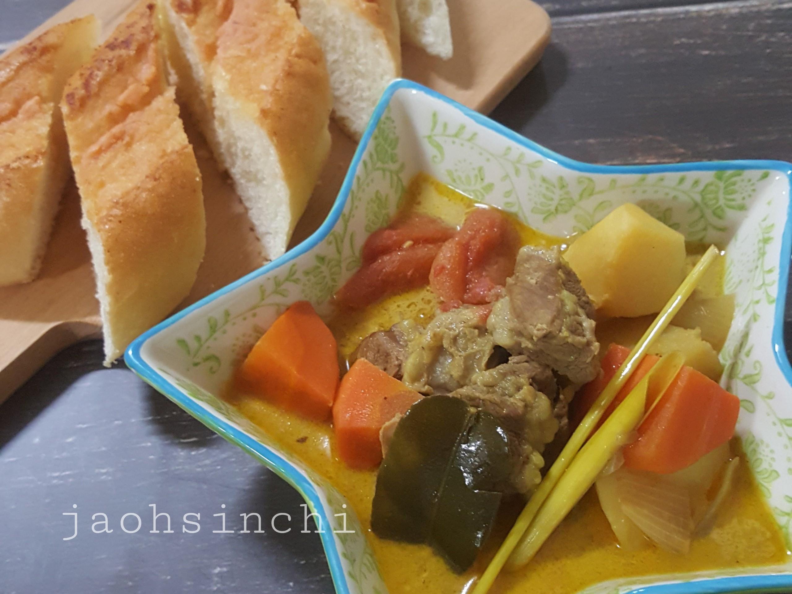 越南咖哩牛肉佐法國麵包🐮🥖