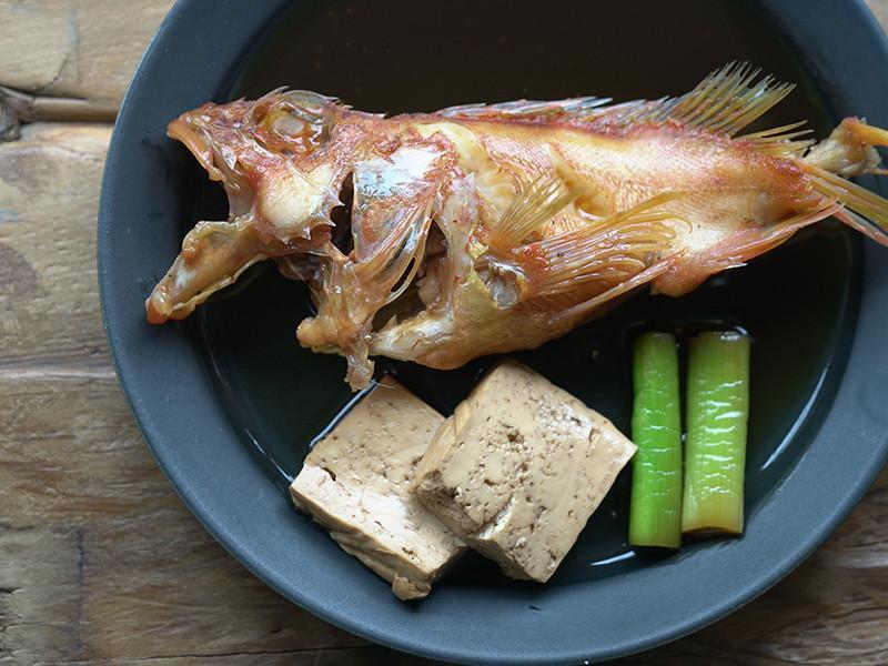 日式家常菜-醬煮魚(魚の煮付け)
