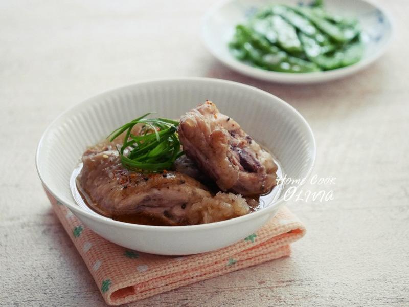 白蘿蔔泥燉雞❤電鍋小廚娘