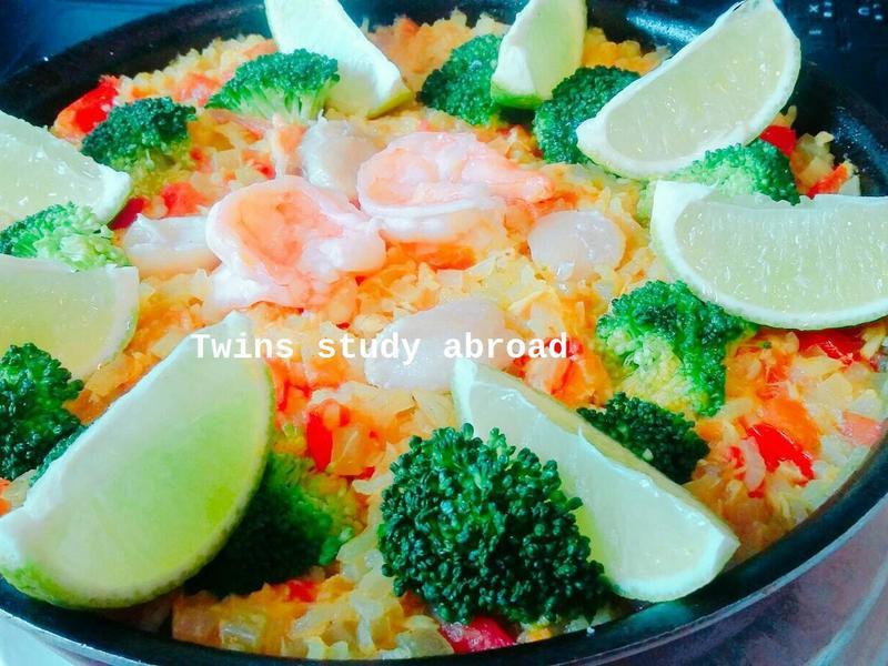 西班牙海鮮飯 [電鍋料理]
