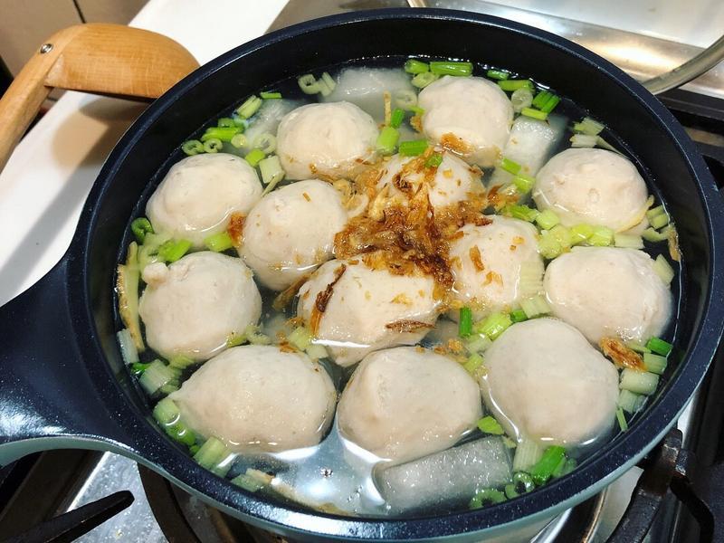 虱目魚丸湯