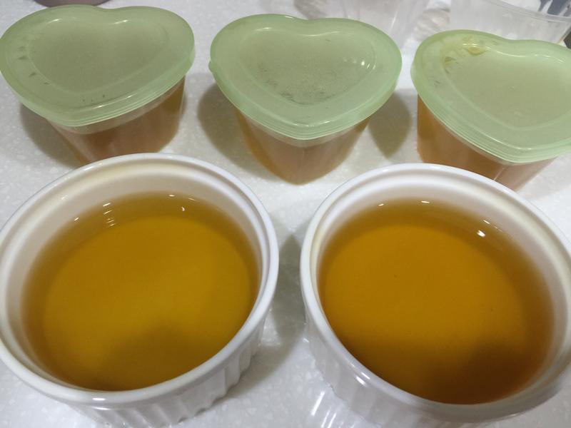 清涼茉莉花香茶凍