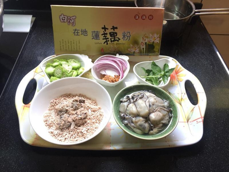 塔香藕粉蚵仔湯