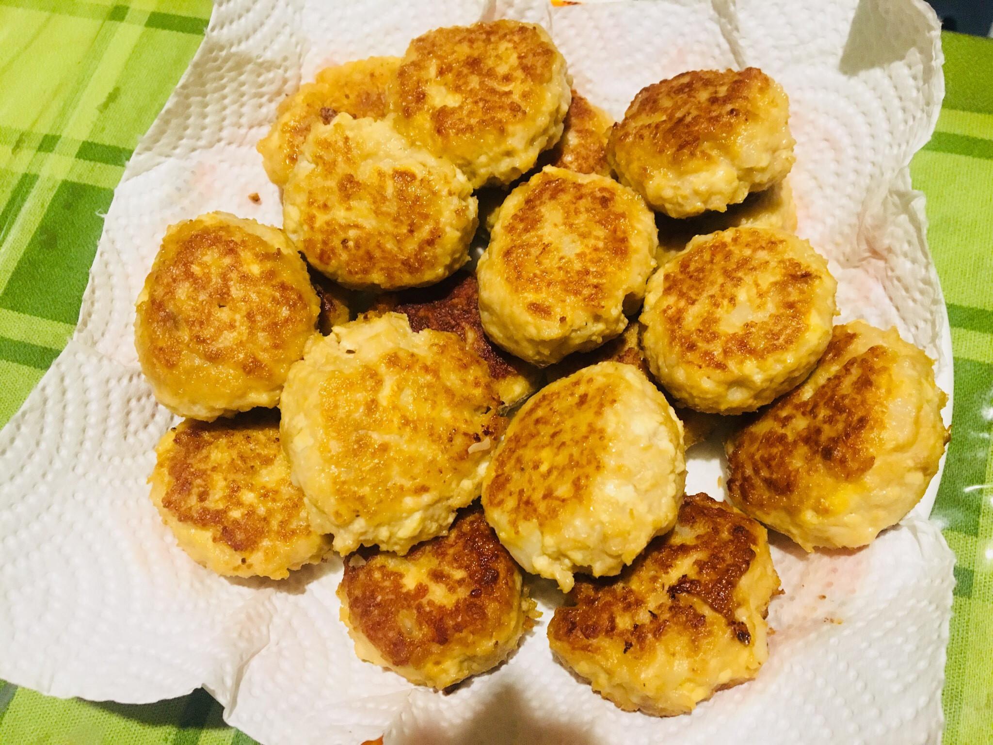 雞肉豆腐薯丸