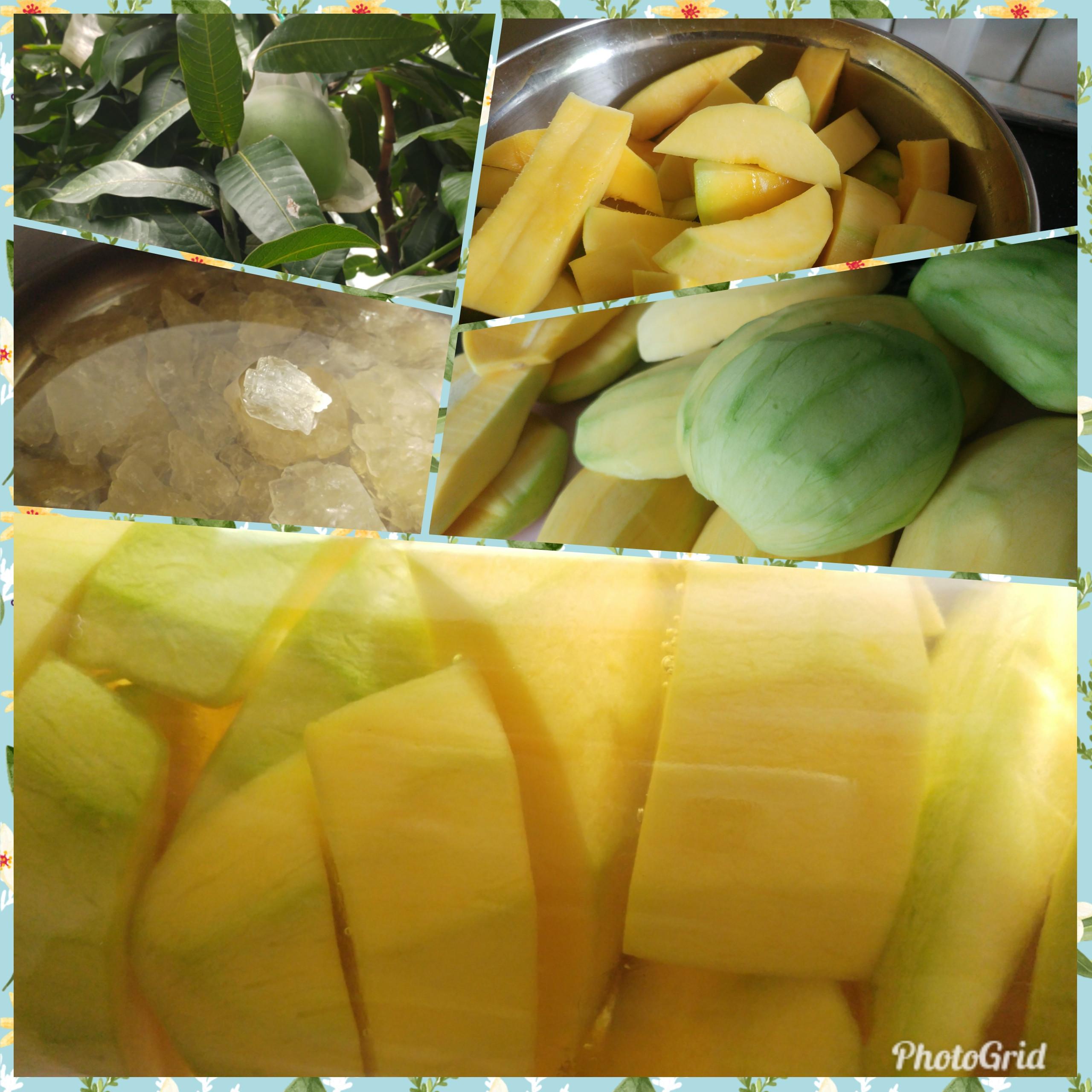 酸甜青芒果