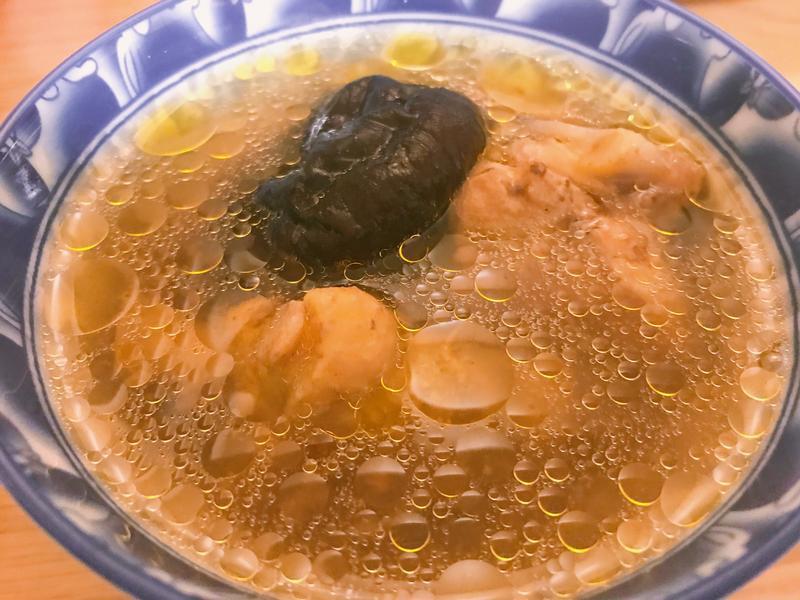香菇雞腿湯(超簡單)