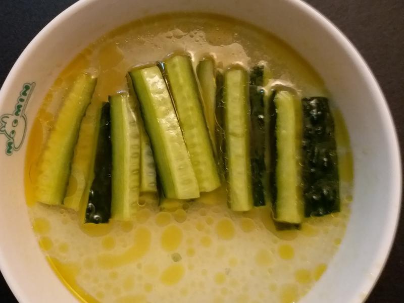 麻麻口味的冰涼爽脆小黃瓜