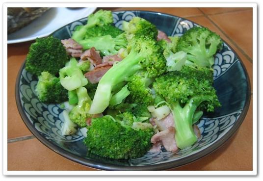 培根綠花椰菜