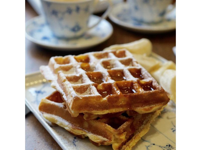 格子鬆餅(waffle)~添加優格更美味