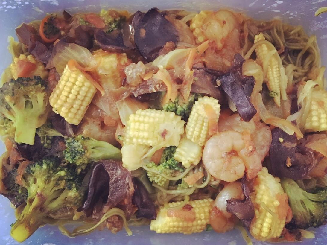 超美味咖喱麵(蔬菜多)
