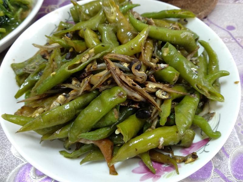 豆豉丁香糯米椒
