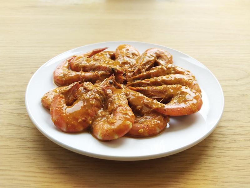 巴東咖哩蝦