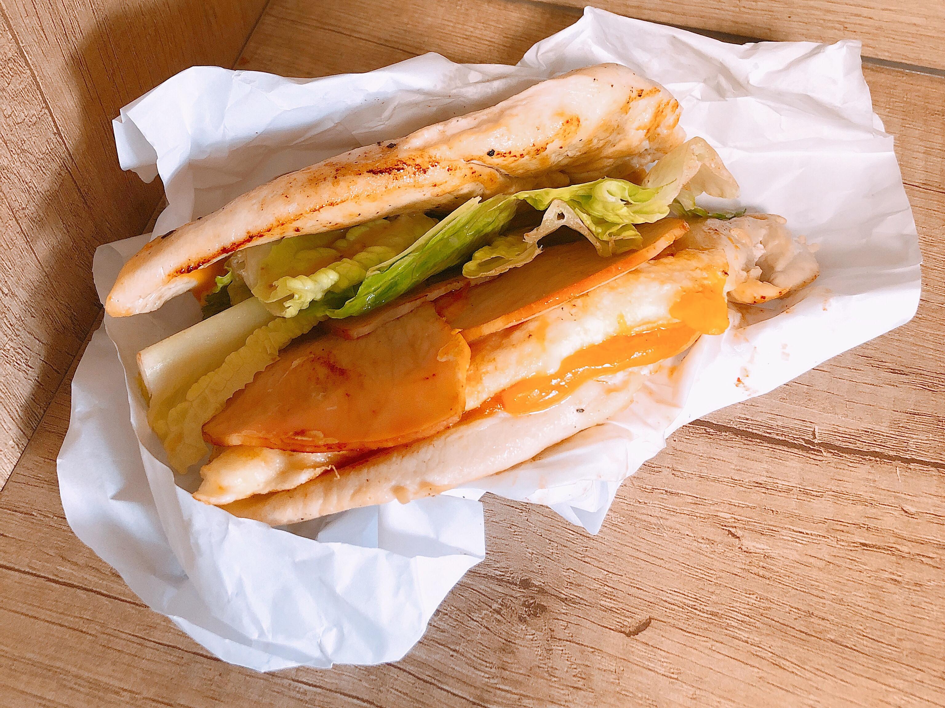 《80g蛋白質》超低碳水-雞胸肉漢堡