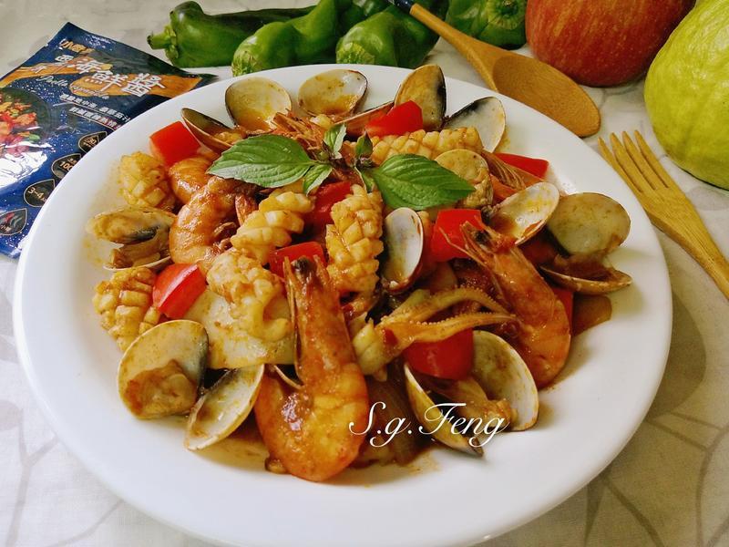 西班牙風味海鮮
