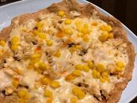 健康料理 鹹蛋薑絲披薩