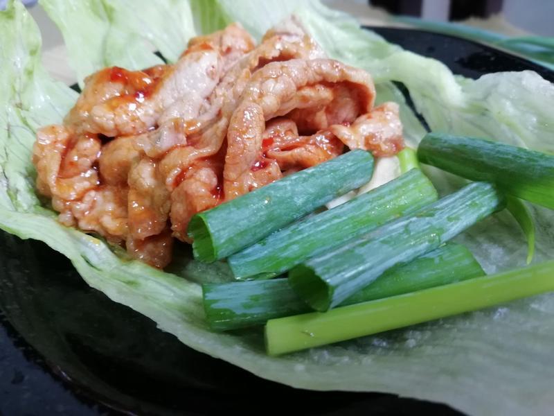 韓式生菜包肉【李錦記韓式烤肉醬】