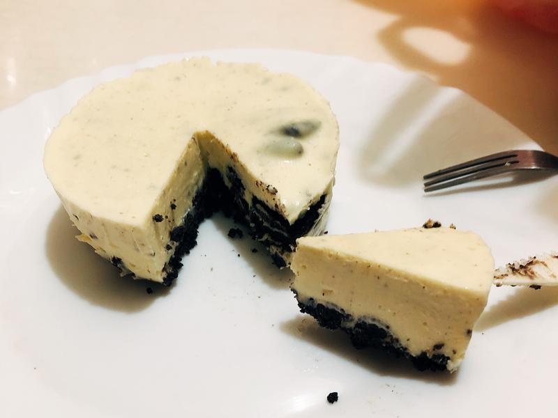 oreo乳酪杯蛋糕(免烤箱)