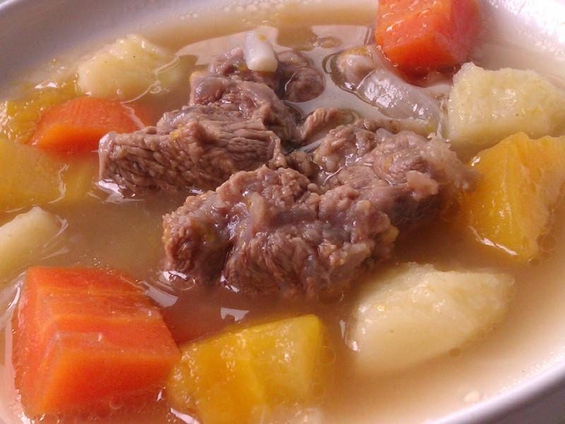 南瓜時蔬燉牛肉