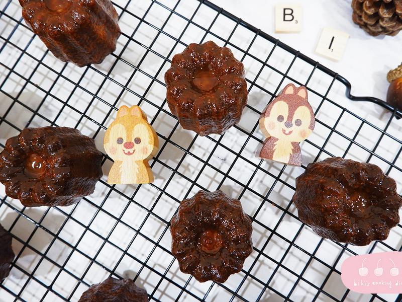 【甜點】法式可麗露・不用蜂蠟也超酥脆!