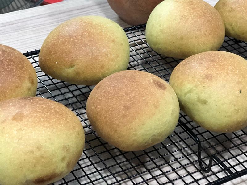 麵包機~塔香起司麵包
