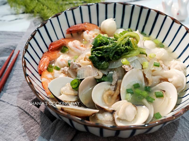 台南美味海鮮鍋燒意麵