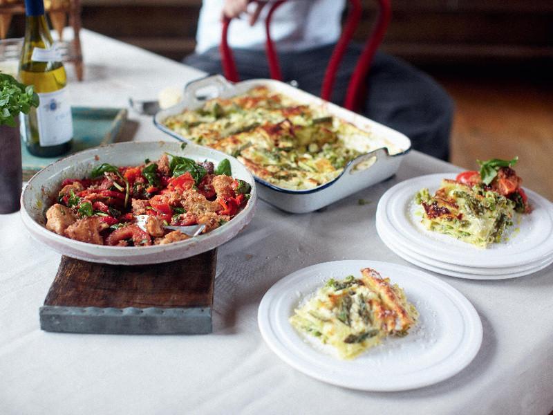 30分鐘上菜-夏日蔬菜千層麵
