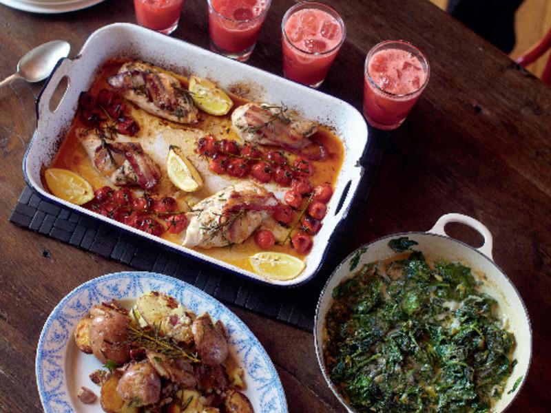 30分鐘上菜-烤盤烤雞