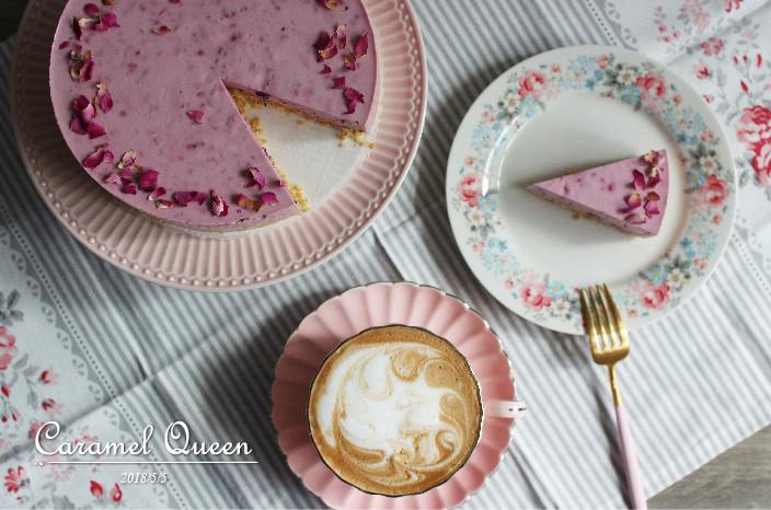 玫瑰桑椹生乳酪蛋糕