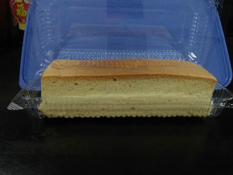 自制卡士达酱夹蛋糕