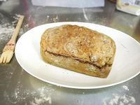 大成功!黑啤酒蘇打麵包+燻鮭魚抹醬
