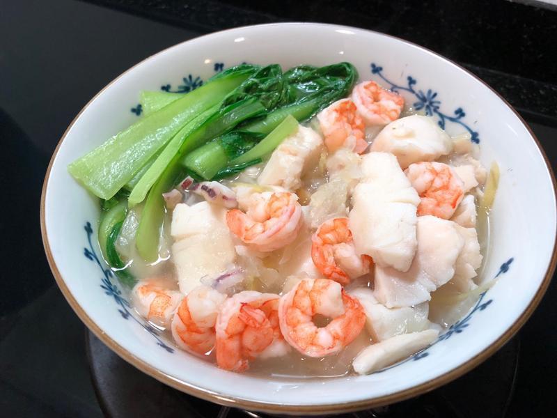 什錦海鮮湯麵