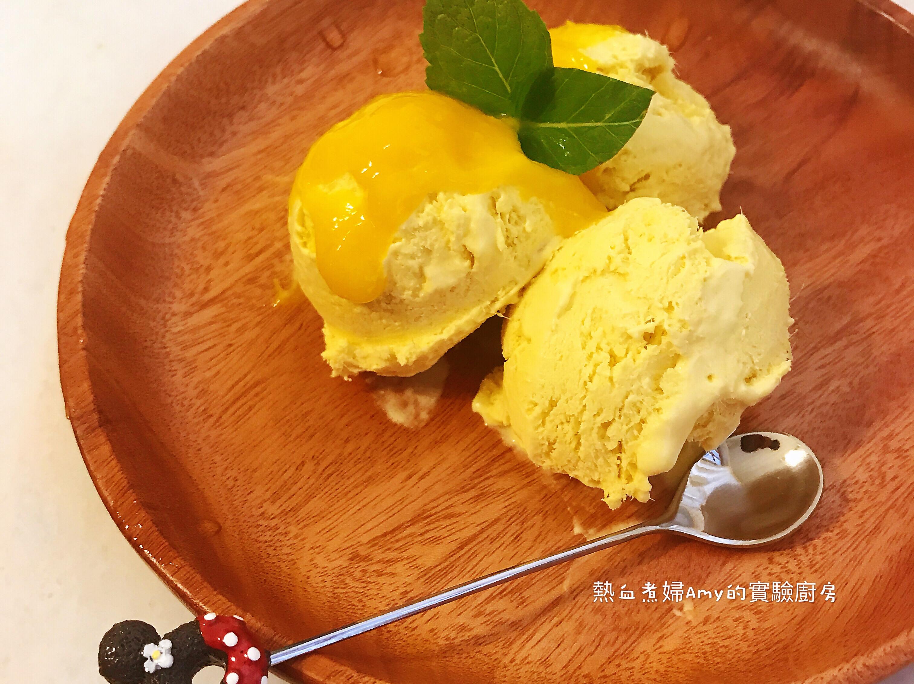 👩🍳手工芒果冰淇淋